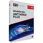 Bitdefender Antivirus Plus 2019 (2 ans 3 postes)