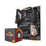 AMD Ryzen 7 2700X Wraith Prism Cooler (3,7 GHz) + X470 AORUS ULTRA GAMING