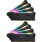 Corsair Vengeance RGB Pro - 8 x 32 Go (256 Go) - DDR4 3000 MHz - CL16