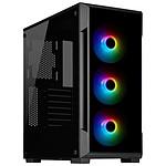 CORSAIR Boitier PC iCUE 220T RGB Moyen Tour Verre trempé Black (CC 9011190 WW)