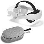 Oculus Quest 2 Sangle Elite avec batterie Travel Case