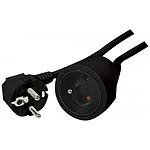 Rallonge électrique Noir - 10m