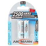 Ansmann Piles rechargeables maXe AA 2500mAh x2