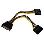 StarTech.com Doubleur d'alimentation SATA / 2 SATA - 15 cm