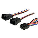StarTech.com Doubleur pour ventilateur PWM (4 broches) - 30 cm