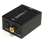 StarTech.com Convertisseur audio coaxial numérique ou Toslink
