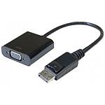 Convertisseur Actif DisplayPort / VGA - 15 cm