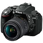 Nikon D5300 + AF-P DX 18-55 VR