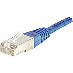 Câble Ethernet RJ45 Cat 5e UTP Bleu - 10 m