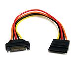 StarTech.com Rallonge d'alimentation SATA - 20 cm