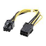 StarTech.com Rallonge d'alimentation PCI-E 6 broches - 20 cm