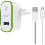 Belkin Chargeur secteur (2,1 A) avec câble micro-USB