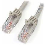 StarTech.com Câble Ethernet RJ45 Cat 5e UTP Gris - 5 m