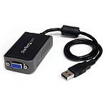 StarTech.com Adaptateur Vidéo Carte Graphique Externe USB 2.0