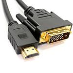 Câble vidéo DVI-D Single Link / HDMI - 3 m