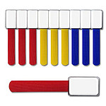 Mini collier de repérage couleurs - pack 10