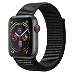 Apple Watch Series 4 (gris sidéral - noir) - Cellular - 40 mm - Occasion