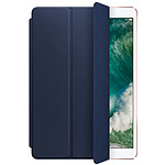 Apple Smart cover cuir bleu nuit - iPad Pro 10,5""