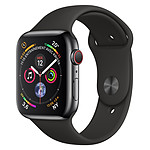 Apple Watch Series 4 (noir sidéral - noir) - Cellular - 44 mm