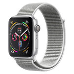 Apple Watch Series 4 (argent - coquillage) - GPS - 44 mm