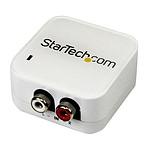 StarTech.com Convertisseur audio RCA stéréo vers Optique