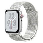 Apple Watch Series 4 Nike+ (argent - blanc) - Cellular - 44 mm