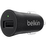 Belkin MIXIT Chargeur allume cigare USB métallique - Noir