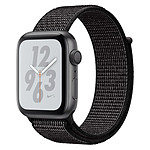 Apple Watch Series 4 Nike+ (gris sidéral - noir) - GPS - 44 mm