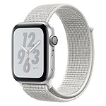 Apple Watch Series 4 Nike+ (argent - blanc) - GPS - 44 mm