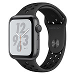 Apple Watch Series 4 Nike+ (gris sidéral - anthracite/noir) - GPS - 44 mm