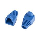 Manchons RJ45 par 10 (diamètre 6 mm) - Bleu