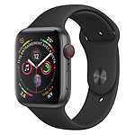 Apple Watch Series 4 (gris sidéral - noir) - Cellular - 44 mm