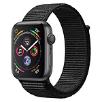 Apple Watch Series 4 (gris sidéral - noir) - GPS - 40 mm