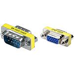 Adaptateur mini changeur VGA (M/F)