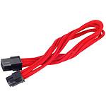 Silverstone Rallonge PCI-E 6 broches 25 cm - Rouge