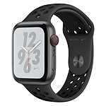 Apple Watch Series 4 Nike+ (gris sidéral - anthracite/noir) - Cellular - 44 mm