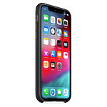 Apple Coque silicone (noir) - iPhone XS