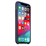 Apple Coque silicone (bleu nuit) - iPhone XS
