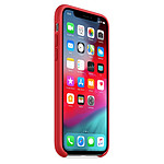 Apple Coque silicone (rouge) - iPhone XS