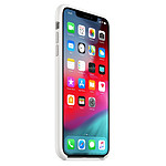 Apple Coque silicone (blanc) - iPhone XS Max