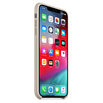 Apple Coque silicone (gris sable) - iPhone XS Max