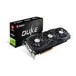 MSI GeForce GTX 1080 Ti DUKE OC - 11 Go