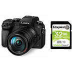 Panasonic Lumix DMC-G7 + 14-140 mm Noir + Carte SDHC