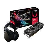 Asus ROG Strix Radeon RX VEGA 56 O8G Gaming + ROG Strix Fusion Wireless