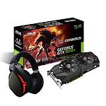 Asus Cerberus GeForce GTX 1070 Ti + casque Strix Fusion
