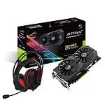 Asus GeForce GTX 1050 Ti STRIX OC + Cerberus V2