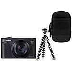 Canon PowerShot SX740 HS Noir + Etui + Gorillapod