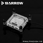 BARROW LTYK3X-04 V2 - Waterblock pour processeur Intel