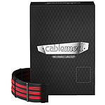 CableMod PRO ModMesh C-Series RMi & RMx Cable Kit - Noir / Rouge