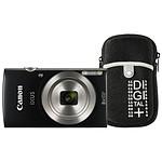 Canon Ixus 185 Noir + Etui Vanguard Beneto 6 Noir
